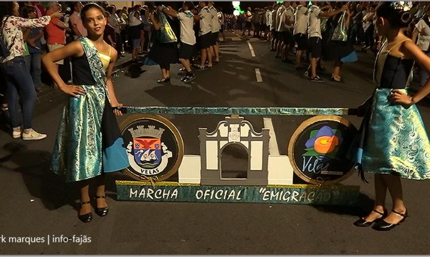 """""""TEMPOS DE ESPERA"""" – MARCHA OFICIAL DA 32ª SEMANA CULTURAL DAS VELAS – 2019 / Ilha de São Jorge (c/ vídeo)"""