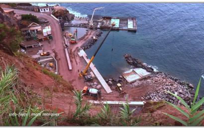 Porto do Topo ganha nova forma – Ilha de São Jorge (c/ vídeo)