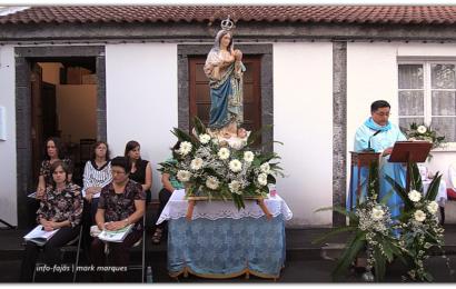 FESTA DA SENHORA DA BOA HORA – Missa Campal – Boa Hora / Santo Amaro – Ilha de São Jorge (c/ vídeo)