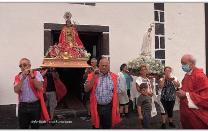 """""""SERMÃO DA PRAÇA"""" – Pe. Manuel António – Festa na FAJÃ DA CALDEIRA DO SENHOR SANTO CRISTO – Ilha de São Jorge (c/ vídeo)"""
