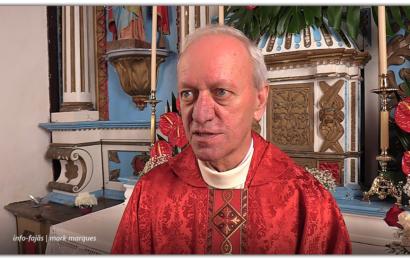 ENTREVISTA AO REITOR DO SANTUÁRIO DO SENHOR SANTO CRISTO – Pe. Manuel António – Fajã de Santo Cristo – Ilha de São Jorge (c/ vídeo)