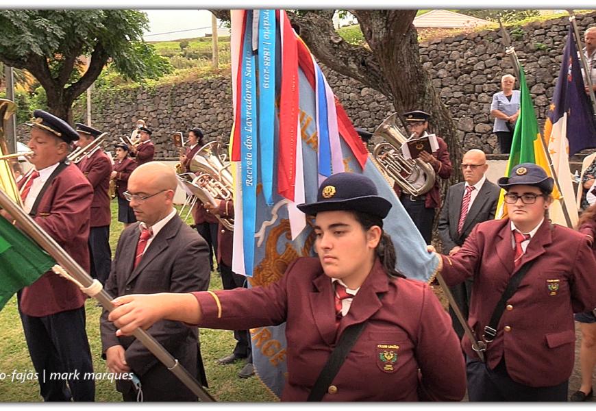 CLUBE UNIÃO saúda Nª Srª do Rosário – Vila do Topo – Ilha de São Jorge (c/ vídeo)