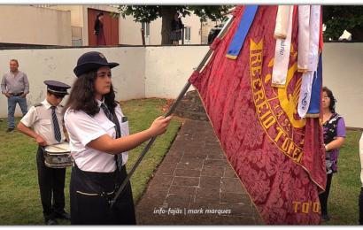 RECREIO TOPENSE saúda Nª Srª do Rosário – Vila do Topo – Ilha de São Jorge (c/ vídeo)