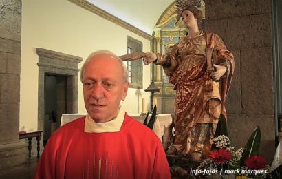 """""""NÃO NOS DEVEMOS RESIGNAR COM ESTA PANDEMIA"""", afirma Pe. Manuel António – Ilha de São Jorge (c/ vídeo)"""
