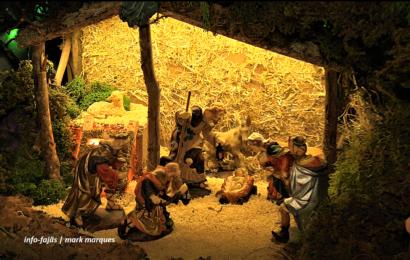 PRESÉPIO ANIMADO de José Eduardo Maciel – Velas – Ilha de São Jorge (c/ vídeo)