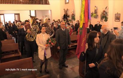 RECREIO DOS LAVRADORES EXECUTA MARCHA SOLENE – Santo Antão – Ilha de São Jorge (c/ vídeo)