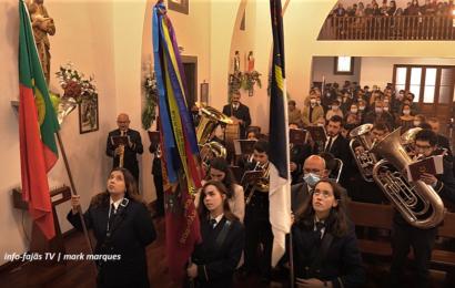 """Banda Filarmónica """"RECREIO DOS LAVRADORES"""" saúda SANTO ANTÃO – Ilha de São Jorge (c/ vídeo)"""