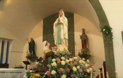 MISSA EM HONRA DE NOSSA SENHORA DE LOURDES – Santo Antão – Ilha de São Jorge (c/ vídeo)