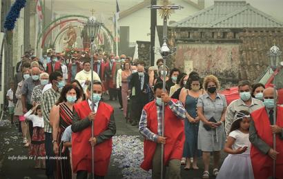 PROCISSÃO EM HONRA DE SANT`ANA – Beira – Ilha de São Jorge (c/ vídeo)