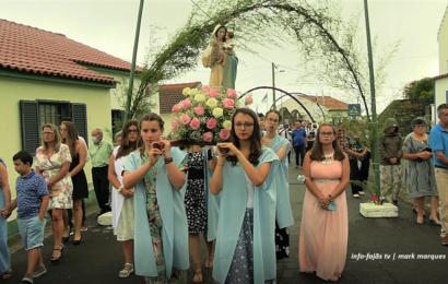 FESTA DA SRª DA ENCARNAÇÃO (Procissão) – Ribeira do Nabo – Ilha de São Jorge (c/ vídeo)