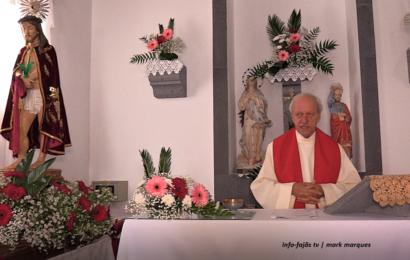 FESTA DO BOM JESUS (Missa) – Fajã Grande / Calheta – Ilha de São Jorge (c/ vídeo)