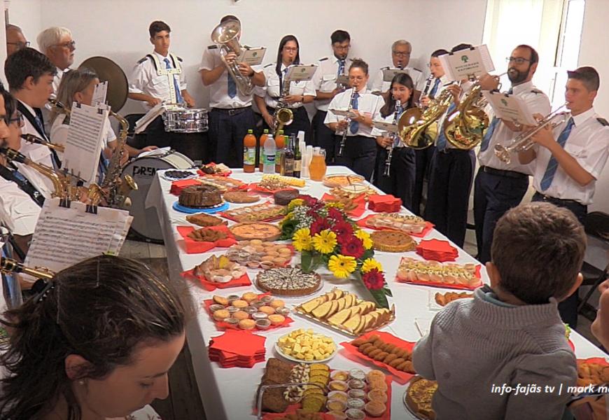 """""""BANDA FILARMÓNICA ESTÍMULO"""" na Festa do Bom Jesus – Fajã Grande / Calheta – Ilha de São Jorge (c/vídeo)"""