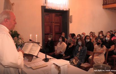 MISSA NA FAJÃ DOS CUBRES – Nª Srª de Lourdes – Ilha de São Jorge (c/ vídeo)