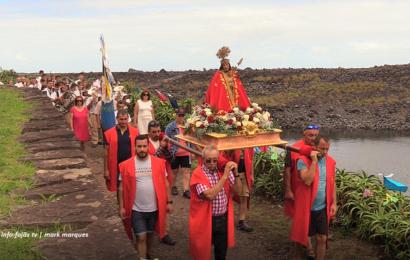 FESTA DA FAJÃ DA CALDEIRA DE SANTO CRISTO – (Procissão) – Ilha de São Jorge (c/ vídeo)