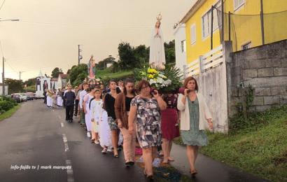 PROCISSÃO NA FESTA DE Nª SRª DO SOCORRO – Biscoitos / Calheta – Ilha de São Jorge (c/ vídeo)