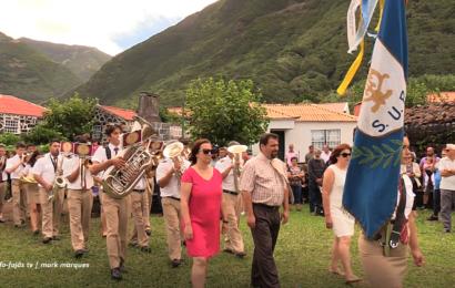 """""""UNIÃO POPULAR"""" ABRILHANTOU A FESTA DA FAJÃ DA CALDEIRA DE SANTO CRISTO – Ilha de São Jorge (c/ vídeo)"""