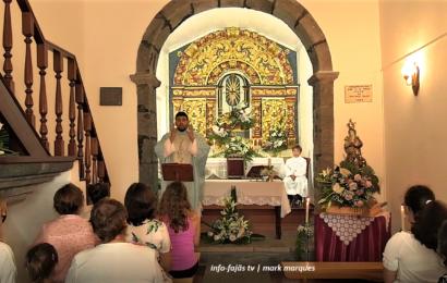 """""""MISSA SOLENE"""" – FESTA DA SENHORA DA LUZ – Queimada / Santo Amaro – Ilha de São Jorge (c/ vídeo)"""